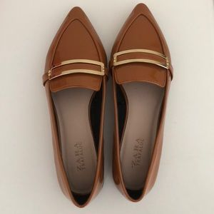 Brown Zara Flats